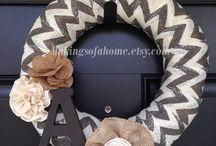 DIY: Wreaths / Styrofoam