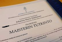 Master's degree (Cell- and Molecular Biology) at the University of Jyväskylä / I finished my Master studies at the University of Jyväskylä in December 2016. The major subject studies, advanced studies in cell- and moleular biology got a grade of excellent. These studies included my Master's thesis, The activation of aggresomal pathway in Coxsackievirus B3 -infection, which also got a grade of excellent.