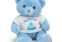 Big Brother Big Sister Sibling Gifts / T-Shirts, Teddy Bears, Dog Bandanas for Big Brother and Big Sister!