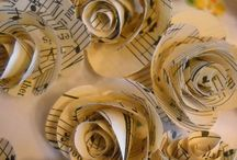 Sheet music rosettes / Sheet music