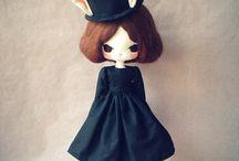Des poupées que j'aimerais faire / by Samia