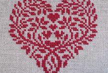 Needlework: Cross stitch