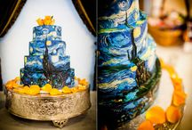Event & Wedding Design - Vincent Van Gogh / Event and wedding design ideas inspired by the paintings of Vincent Van Gogh