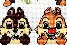 bw...Chip and dale
