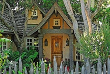 Home Sweet Home / My dream home is not a huge 5 million dollar home with things I couldn't even imagine to afford.. I just want a cute and cozy stone cottage in the mountains by a lake