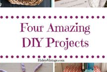 DIY Crafts & Projects / I love #crafts and #DIY There are projects here for the hubby, me, and the kiddos. Projects are for the home and beyond!