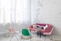 Girly Minimal / The all time classic black and white minimal style , with a touch of pink that gives it a fresh and girly perspective. Get inspired!