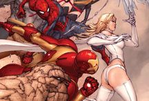 Marvel / DC / Comics Fun & Art