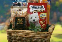 Animal feed baskets
