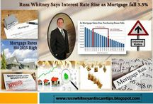 Interest Rate Rise as Mortgage fall 3.5%
