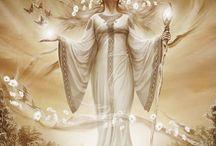 Sunna / Sunna is a solar logos. In Maitreya's philosophy, she is the epitomal Goddess of rune Fehu ('Cattle & Wealth').