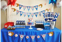 Baseball Party Ideas / baseball party ideas • baseball invitation ideas • baseball cake ideas • baseball decoration ideas • baseball party supplies • baseball party favor ideas and more!