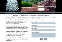 INVIXO PROJECTS Website Design