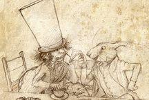 sketchbooks & journal drawings