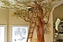 Treehouse bedrooms