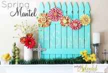 Spring Mini Session Ideas / Ideas to inspire my own spring photography backdrops. Imitation is the sincerest form of flattery, but copying just isn't right!