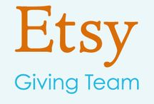 Etsy Giving Team Board / The Etsy Giving Team