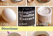 mug food
