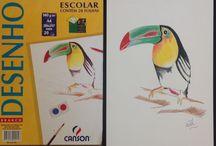 Meus desenhos... / Meu lado artístico em treinamento...