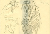 Wrath - Production cells and concept art / Scans of oryginal cells and artworks used in the production of the 2003 FMA anime