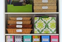 Home Organizing / Things I love for organizing