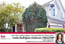 Real Estate for Sale in Streamwood, IL / Real Estate for Sale in Huntley, IL brought to you by Ivette Rodriguez Anderson of Keller Williams Success Realty.