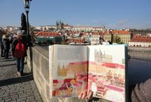 This is Prague / Have a look at Prague in a new artistic way! Enjoy the illustrations of Michaela Kukovicova and the writing of Olga Cerna.