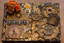 Steampunk / by Debbie Patterson (Laughngypsy.etsy.com)