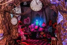 New realities- Alice in wonderland / The classic story told through pictures