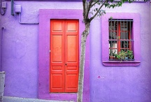 Colors - purple & red