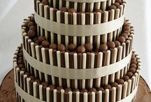 Chocolate wedding cakes / by Clare Morris Hickman
