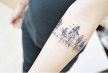Tattoos træer