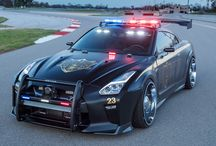 Nissan Police GTR