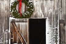 Winter/Christmas Barns