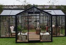 Orangerieën / Mooie orangerieën om bij alle weersomstandigheden heerlijk van je tuin te kunnen genieten.