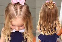 belleza y peinados niños