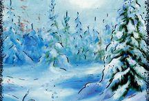 RAIJA RIIHIMÄKI / Taiteilija, kuvittaja Raija Riihimäki on syntynyt Ruovedellä ja pitää yritystä Ylöjärvellä Siivikkalassa.  Hän on luetteloinut piirtämiään kortteja noin 280 erilaista, joita hän on piirtänyt vuodesta 2007 alkaen ja osallistunut myös lukuisiin näyttelyihin.