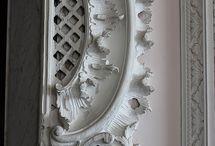 Rococo carving