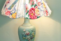 Inspirasi lampu shabby