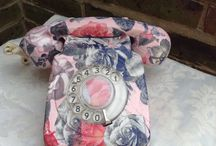 telefone com decopagem