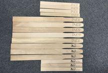wood paint paddles