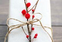 Rustic Red Christmas / Idées et inspirations autour d'un Noël en rouge !