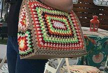 Horgolt táskák