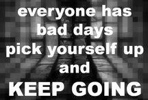 Geef nooit op