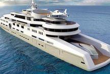 Big Luxus boat
