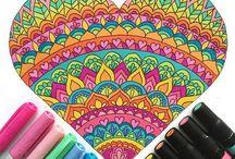 Arta-colorat sau creion...:* / Despre Arta facuta in creion sau colorata...