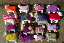 Woolly Sheep 2016 / A Creative Community project for Yarndale 2016, raising money and awareness for Martin House Children's Hospice. Over 700 sheep were made and sent to Yorkshire from 32 countries worldwide.