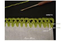 Caseado de croche verde