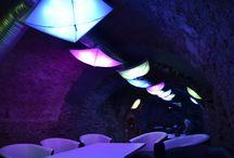 Bar lighting / Locality: Levoca, Slovakia Light application by MiKraDesign
