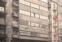 Átrium Film-Színház / A korábban Május 1. moziként is ismert impozáns Bauhaus épület Átrium Film-Színház név alatt 2012. november 26-án nyitott meg ismét, mintegy évtizedes bezártság után.  Az újra felébredő intézmény története mesébe illő. Négy színházszerető magánszemély vette meg az épületet, akik között Lakatos Péter Csiby Évával a meghatározott tulajdonos. A több évre bezárt, egyre pusztuló műemlék mozit használható állapotba hozták, és a bérleti díj mellőzésével átadták az Angol Nyelvű Színház Alapítványnak.